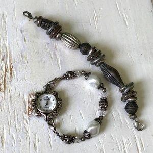Interchangeable Band Bracelet Watch